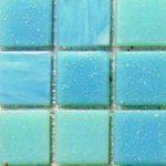 Стеклянная мозаика JNJ blue-sky